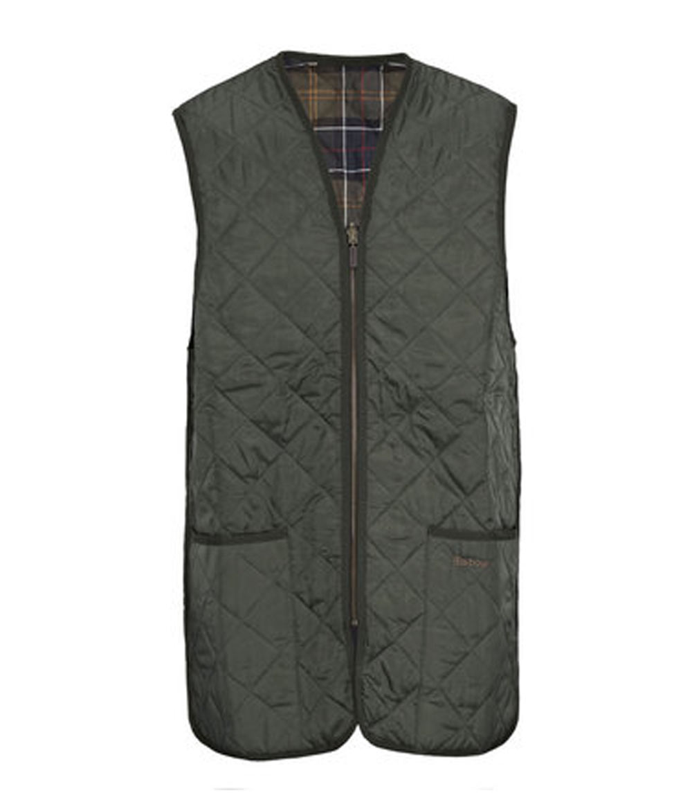 Barbour Quilted Waistcoat/Zip-In Liner バブアー・キルテッド・ジップ・イン・ライナー