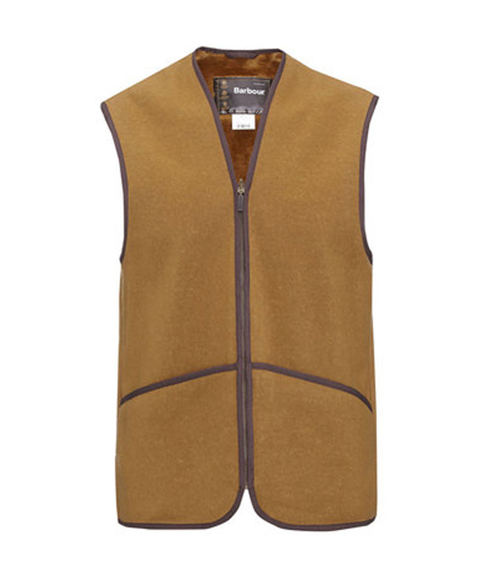 Barbour Warm Pile Lining Waistcoat/Zip-in Line バブアー・ウォーム・パイル・ライニング ジップ in ライナー